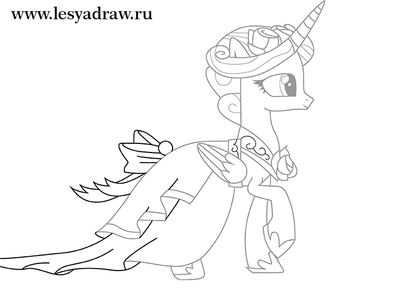 Beautiful princess cadence coloring pages 86 with additional line drawings with princess cadence coloring pages